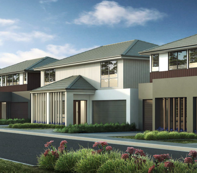 Llano - Berwick Boutique townhome development with absolute park frontage